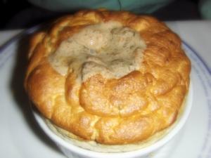 Mushroom Souffle