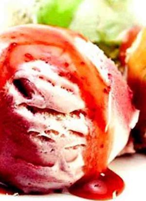 Easy Strawberry Bavarian