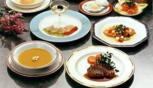 French dinner menu