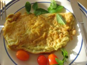 Cheese Omelette from Sheba's Kitchen