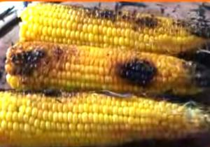 Corn on the Cob on the Embers