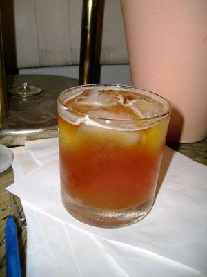 Ginger Peachy Drink