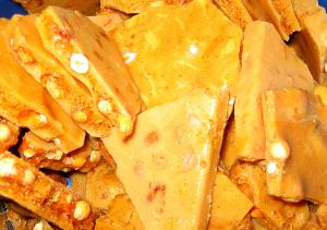 Peanut Brittle And Caramel Corn