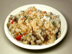 Risotto with Sweet Sausage and Vegetables