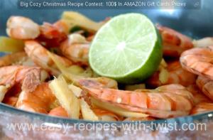 Spicy Ginger Shrimp