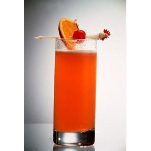 Traditional Caribbean Rum Punch