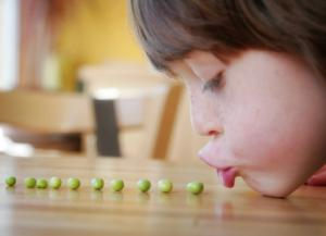 You can encourage your child to eat healthy foods