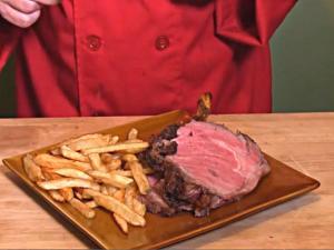 Prime Rib Roast (Cedar Planked)