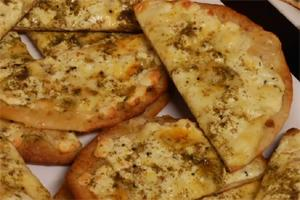 Vegan Mana-Eesh Bil Za'tar and Nabulsi Cheese Pizzas