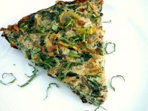 Summer Squash And Feta Cheese Frittata