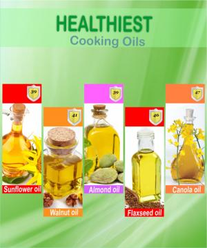 Healthiest Cooking Oils