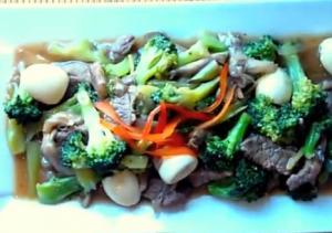 Oriental Beef Mushroom Broccoli
