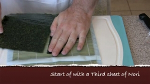 How to Make Super Shrimp Tempura Sushi Roll
