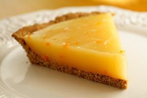Preparation of low calorie lemon pie