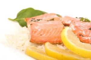 Hot And Sour Baked Salmon