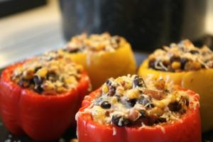 Mexican Beef Stuffed Peppers
