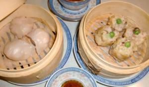 Siu Mai - Pork and Shrimp Dumplings ( Dim Sum )