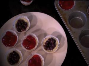 Mini Cheesecakes - Low (Reduced) Fat Healthy