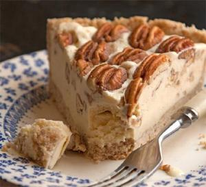 Maple Nut Chiffon Pie