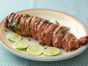 How to Stuff Meat- Pork Tenderloin stuffed with Mushroom
