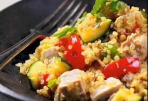Glutenfree Quinoa Salad