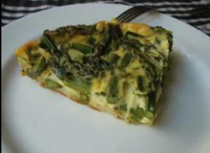 Spring Asparagus Pie