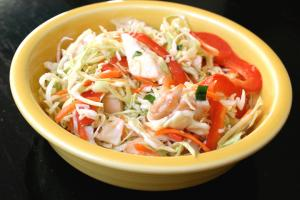 Vinegar Cabbage Salad