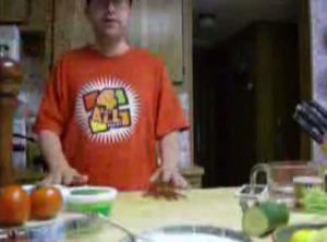 Falafel Sandwich Part 1: Cucumber Sauce