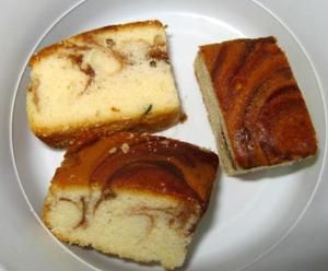 Daisy Marble Cake