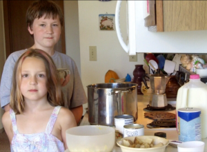Corn Chowder Recipe By 2 Kids Cooking TV