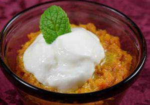 Carrot Flavored Phirni