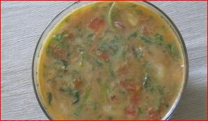 Tiffin Sambar (Mung Dal) - South Indian Lentils