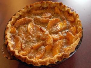 Schnitz Peach Pie
