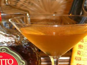 How To Make an Amber Martini
