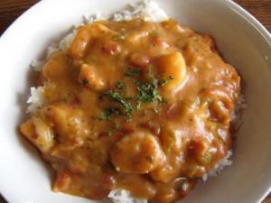 Malayan Shrimp Curry
