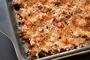 Cheesy Italian Beef Bake