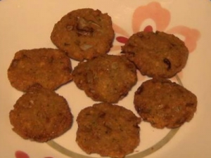 Chanadal Vada - Indian Appetizer