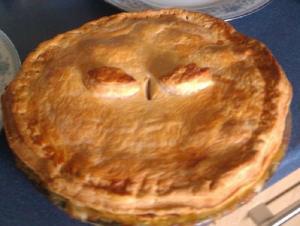 Simple Devon Chicken Pie