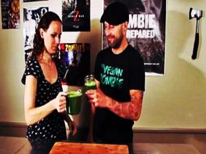 Cancer Fighting Green Juice - Cowgirls & Collard Greens