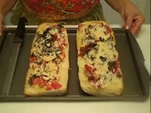 Rosalie Fiorino Harpole - Traditional Bruschetta Bread