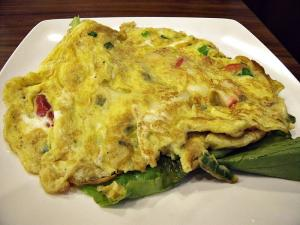 Savory Bacon Omelette