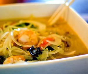Asparagus Shrimp Soup