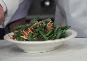 Healthy Green Beans Almondine