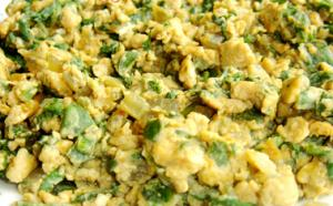 Egg Spinach Scramble