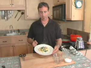 Spinach Egg Scramble