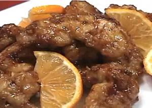 Chinese Orange Pork