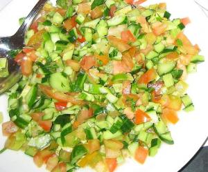 Cucumber Salad with Lemon Zest