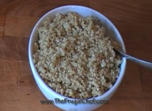Nutritious Quinoa for Breakfast