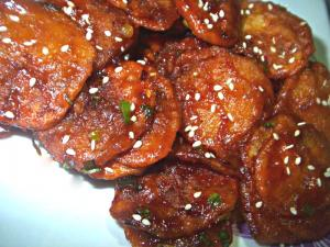 Sweet and Spicy Potatoes