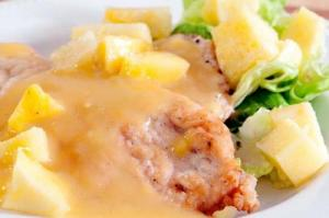 Lemon Chicken With Pineapple